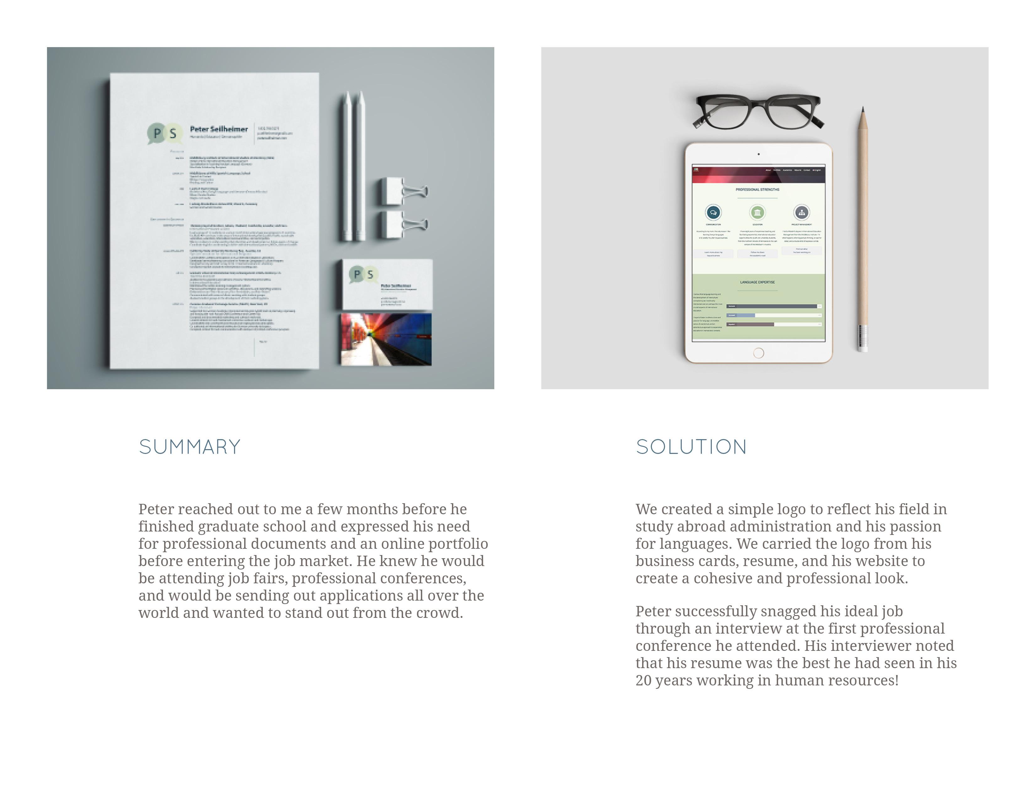 Client Presentation-Peter Seilheimer