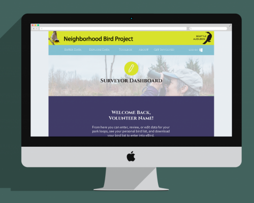 Neighbordhood Bird Project