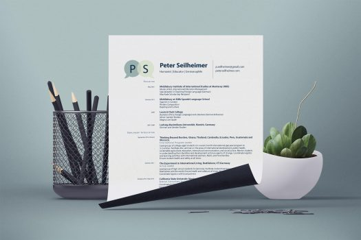 peter seilheimer branding identity professional resume
