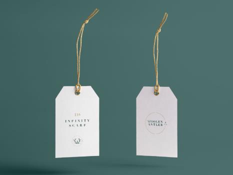 Woolen-Antler-Brand-Hang-Tag-Design