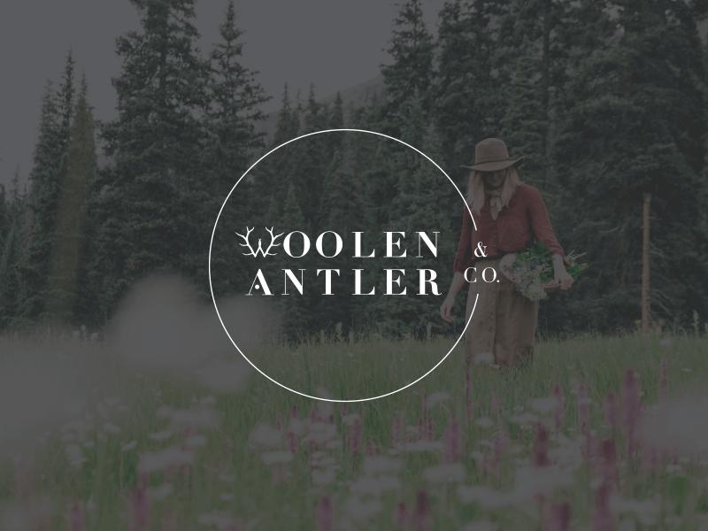 Woolen-Antler-Brand-Primary-Logo-Foraging